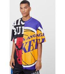 nba bulls & lakers t-shirt