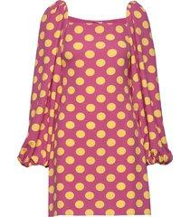 will, 775 structure stretch jurk knielengte roze stine goya