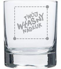 szklanka do whisky z własnym nadrukiem