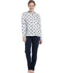 dames pyjama pastunette 20202-110-6-50