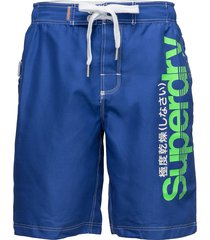 superdry boardshort surfshorts blå superdry