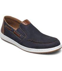 18266-14 loafers låga skor blå rieker
