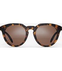 mk occhiali da sole marco - tartaruga (marrone) - michael kors
