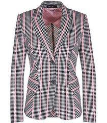 marc cain blazer van jersey roze