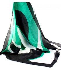 pañuelo verde almacén de paris