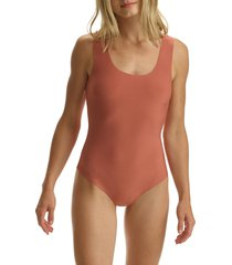 commando butter tank bodysuit, size small in cedarwood at nordstrom