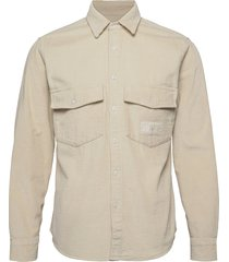 lh chunky corduroy shirt overhemd casual beige tommy hilfiger