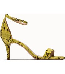 schutz sandalie cadey-lee colore giallo