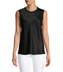 sleeveless pullover top