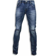 skinny jeans true rise jeans damaged knee regular fit