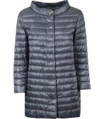 herno round collar padded jacket