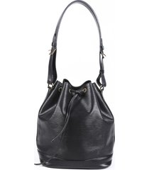 louis vuitton vintage noe epi leather bucket bag