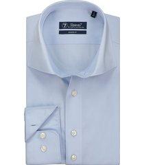 sleeve7 overhemd lichtblauw poplin