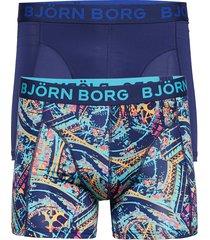 shorts bb eiffel 2p boxerkalsonger blå björn borg