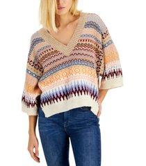 weekend max mara erasmo 3/4-sleeve sweater