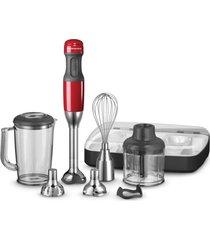 mixer de mão 5 velocidades kitchenaid empire red keb25av 127v