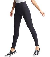 yummie women's high-rise seamless leggings - black - size m/l