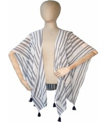 fraas multi stripe weave wrap