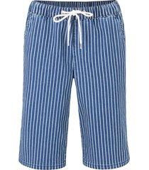 bermuda elasticizzati  comfort con laccetto e cinta comoda (blu) - bpc bonprix collection