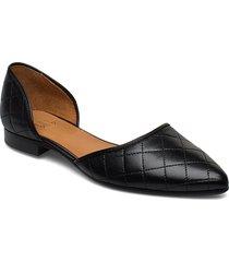 espadrilla shoes ballerinas espadrilles flat svart billi bi
