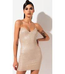 akira we free glitter mini dress