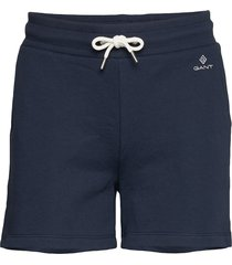 d1. gant lock up sweat shorts shorts flowy shorts/casual shorts blå gant