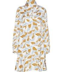 rodebjer klement bird jurk knielengte multi/patroon rodebjer