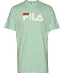 unisex classic pure ss tee t-shirts short-sleeved grön fila