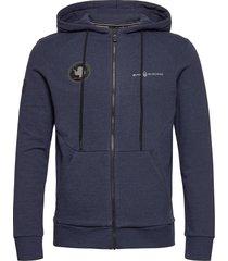 antarctica zip hood hoodie trui blauw sail racing