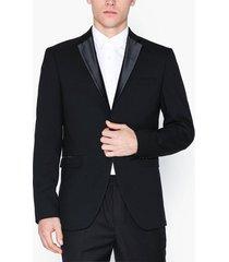 selected homme slhslim-tigalogan black tux blz b kavajer & kostymer svart