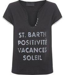 camiseta feminina posli - preto