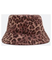 bucket animal print | accessories | marrom | u