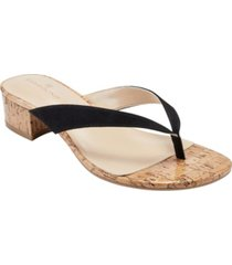bandolino women's selem thong dress sandals women's shoes