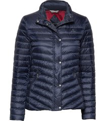 d1. light down jacket gevoerd jack blauw gant