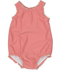 caramel one-piece swimsuits