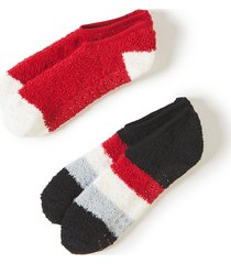 cozy slipper socks 2-pack