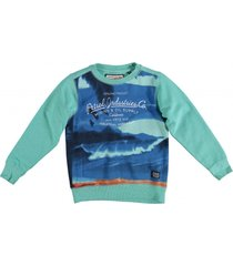 petrol groene sweater
