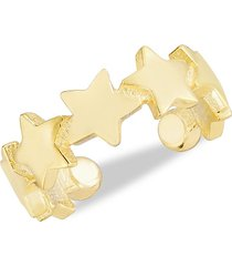 chloe & madison women's 14k gold vermeil ear cuff