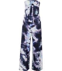 tuta a fascia con stampa batik (grigio) - bodyflirt boutique