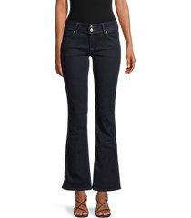 hudson women's collin mid-rise bootcut jeans - sydney - size 28 (4-6)