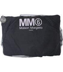 mm6 maison margiela clutch with logo