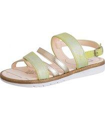 sandalia casual verde pastel  lag