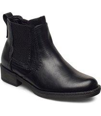 woms boots shoes chelsea boots svart tamaris