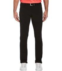 pga tour men's golf classic fit five-pocket horizon pants black - size: 34w x 30l