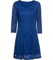 abito con pizzo (blu) - bodyflirt