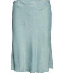 eddie mini skirt knälång kjol blå second female