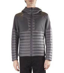 colmar hooded down jacket in technical fabric
