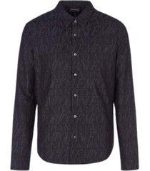 jacquard cotton shirt