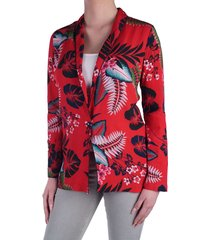blazer red combi