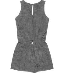 macaquinho canelado feminino rovitex cinza - cinza - feminino - dafiti